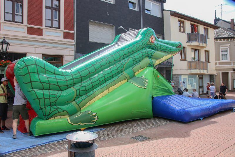 Snappy Krokodil interaktives Spielgerät