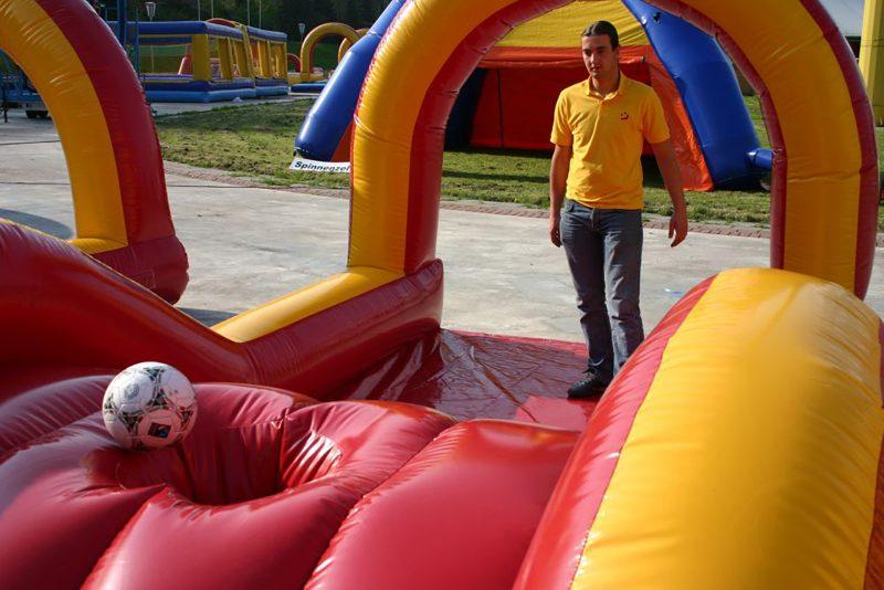 Fußball Minigolf Element