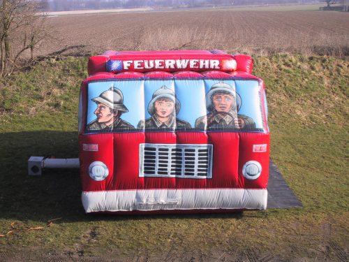 Hüpfburg überdacht Feuerwehr