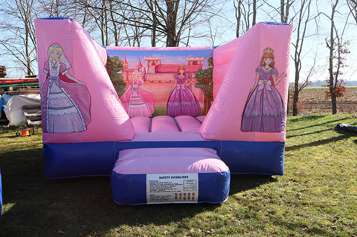 Hüpfburg im Prinzessinen Design